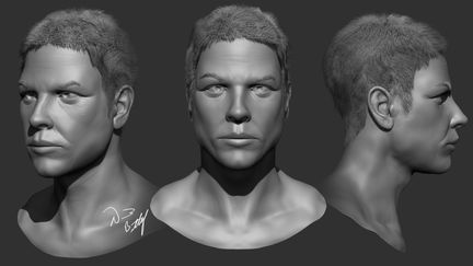 Z-Brush Face Sculpt
