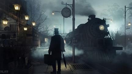 Night at Platform