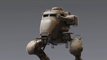 NAZI AT-ST WALKER - front view