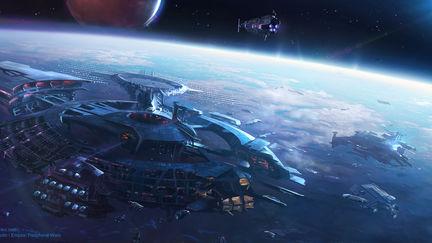 Malhana's trading space station