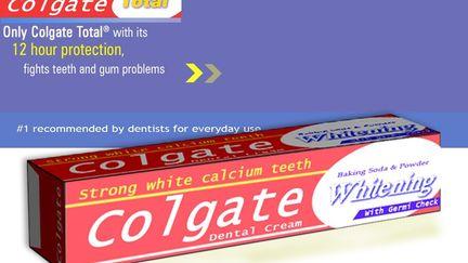 Colgate Box for Ad