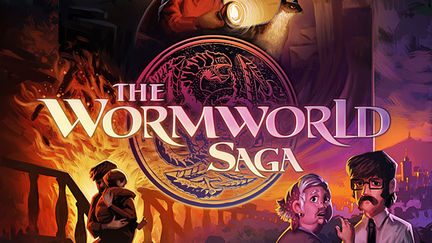 The Wormworld Saga Online Graphic Novel - Chapter 1 Cover