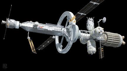 MIission Mars / Spaceship