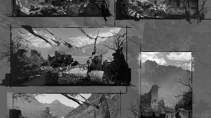 FarCry4 Concept Art - Studies