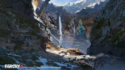 FarCry4 Concept Art - Mountain path