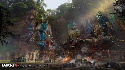 FarCry4 Concept Art - Statues