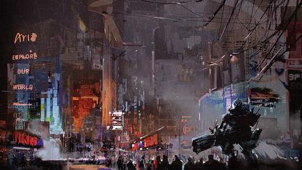 Steamy Downtown