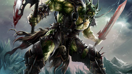 WOW Orc Death Knight
