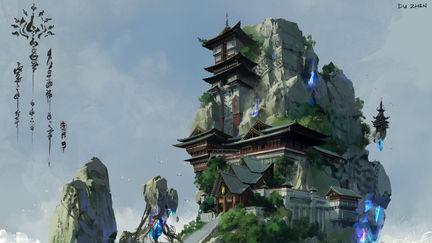 china xianxia scene