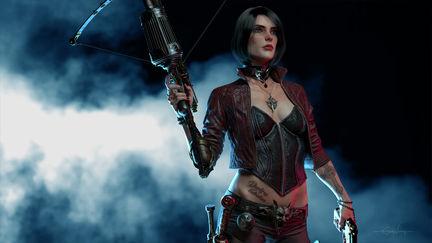 Anna Van Helsing, Vampire Hunter