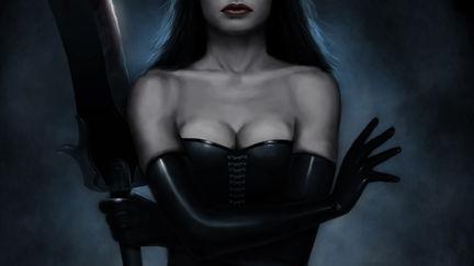 The Iron Queen w/ sword