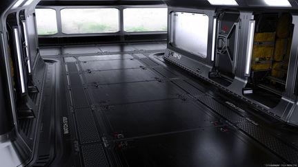 Scifi Interior Concept Design