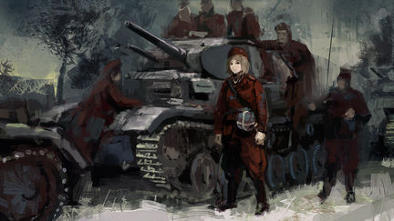 Red winter - Panzerbataillon