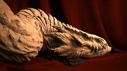 Dragon Bust Sculpt