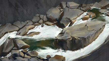 Water Rocks Study