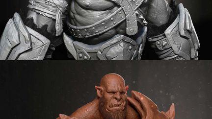 Orc Warcraft ( Fan Art )