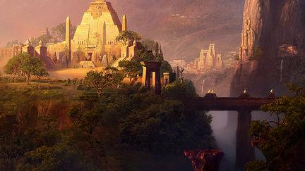 Post-Atlantis. Sacred Lands