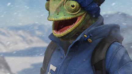 Snowboarder Chameleon