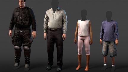 Max Payne 3 NPCs
