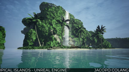 TROPICAL ISLANDS - Unreal Engine 4