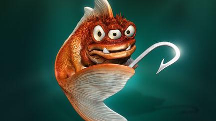Evil Goldfish - final image