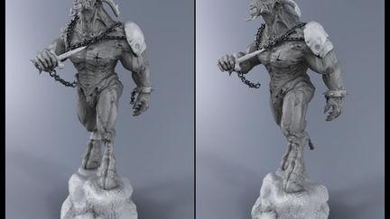 Demon Awakens - Real time rendering by Hypershot