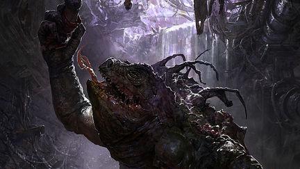 sewer dwelling monster