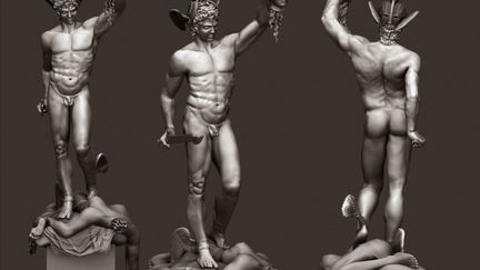 Study of Perseus Slaying Medusa WIP (Nudity)