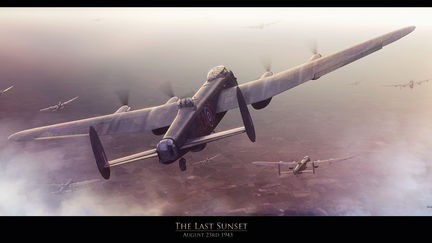 Avro Lancaster - The Last Sunset