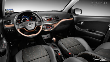 Picanto Car Interior