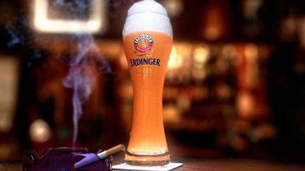 The great Erdinger Wheat Beer