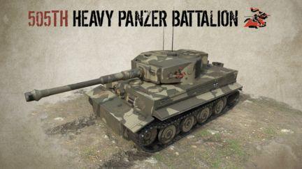 505TH  HEAVY PANZER BATTALION