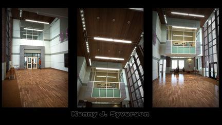 Art-Science-Design Center Lobby Interior