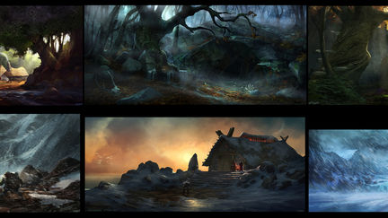 Fantasy RPG Visual Development Concepts 2010