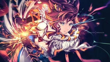 Commission Art-Miqote-Battle