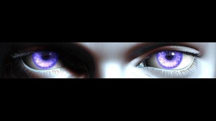 Mikhaela's eyes