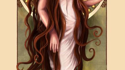 Art Nouveau Girl