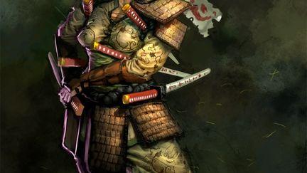 Samurai Concpet- Butterfly