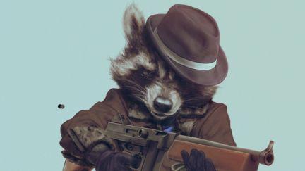 Gangster Racoon