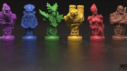 Cave_in boardgame totems
