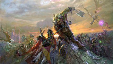 Final Battle - Homm5 Poster