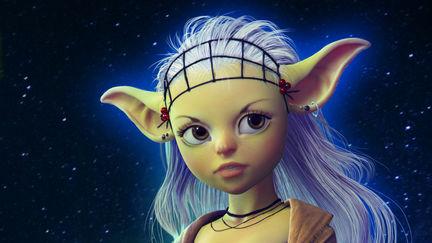 Yoda-girl