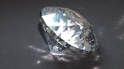 Diamond, in the Buff