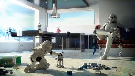 Stormtrooper Father and Son v.2.0