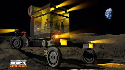 Moon vehicle concept