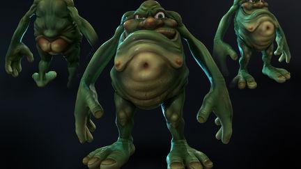 Gross Alien