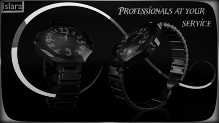 Watches advertising