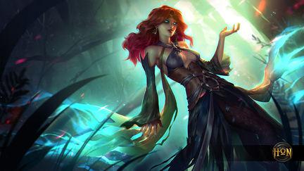 Heroes of Newerth  / Green Lady Defiler