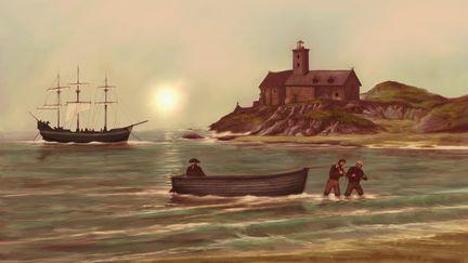 Coming ashore 3