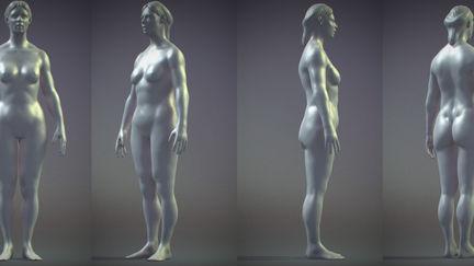 quick shape - woman